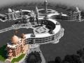 Model of the Education Centre in Jadan